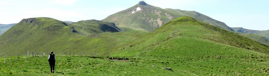 Tour des monts du Cantal : Puy de la Tourte